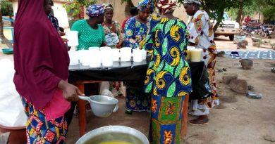 production du beurre de karité