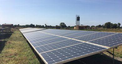 Centrale hybride de Access dans la région de Sikasso