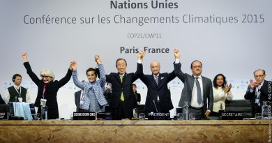 Climat : l'Accord de Paris à 5ans !