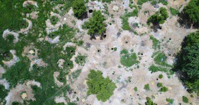 Dégradattion environnementale due à l'orpaillage dans le complexe forestier Bougouni-Yanfolila