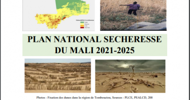 PLAN NATIONAL DE LA SECHERESSE
